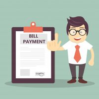 Invoice and deposit payment